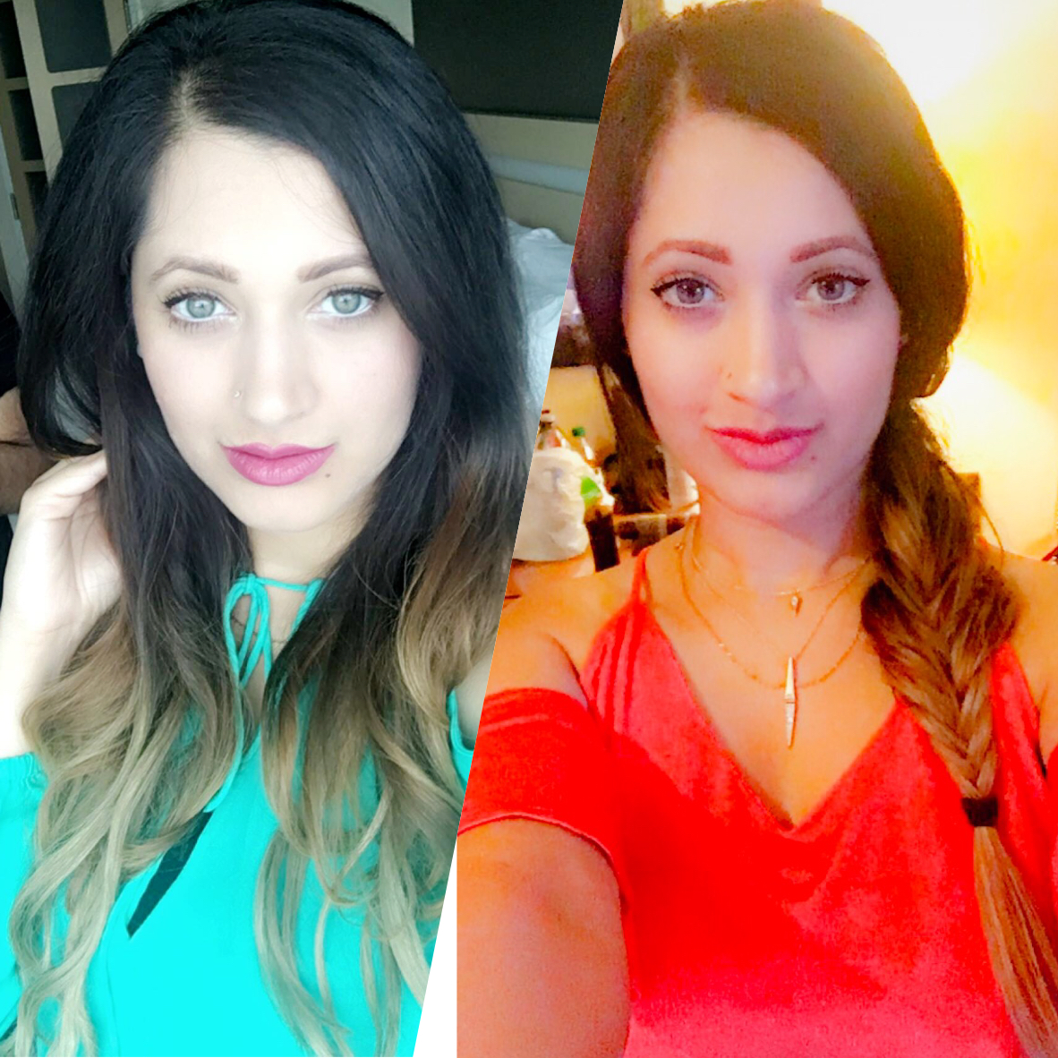 Luxy Hair Ombre Extensions Review Nellys Beautypedia